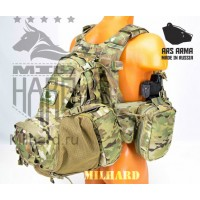 Штурмовой рюкзак AA-Eagle Beaver Tail Assault Pack/YOTE в расцветках A-TACS FG и Multicam
