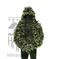 3D LEAF viper hood (long sleeves) / Лиственная накидка разведчика с длинными рукавами