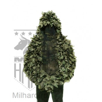 3D LEAF viper hood (long sleeves) / Лиственная на